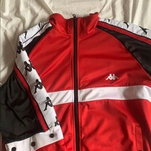 Kappa Authentic Track red & black